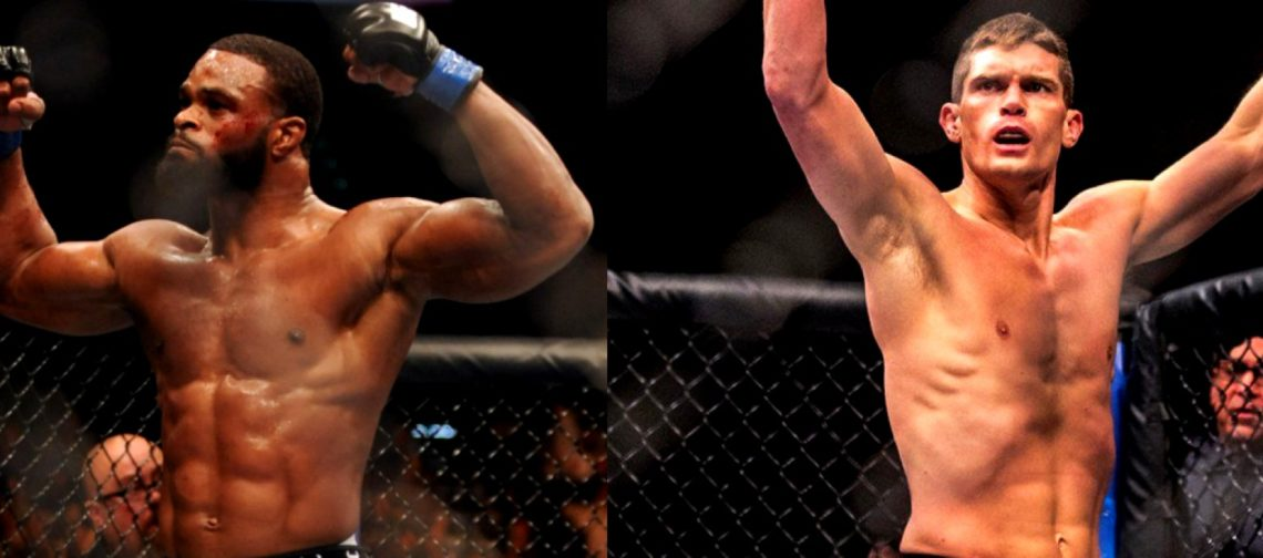 Tyron Woodley On THe Left And Josh Thompson On The Right: UFC 205 Co Main Event