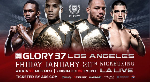 Glory Kickboxing 37 Muay Thai