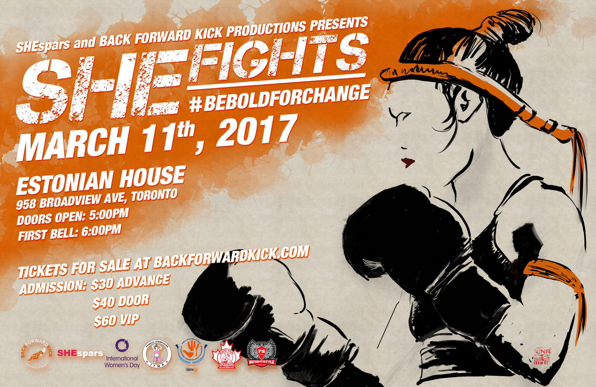 Shefights: Female Muay Thai Event in Toronto Ontario