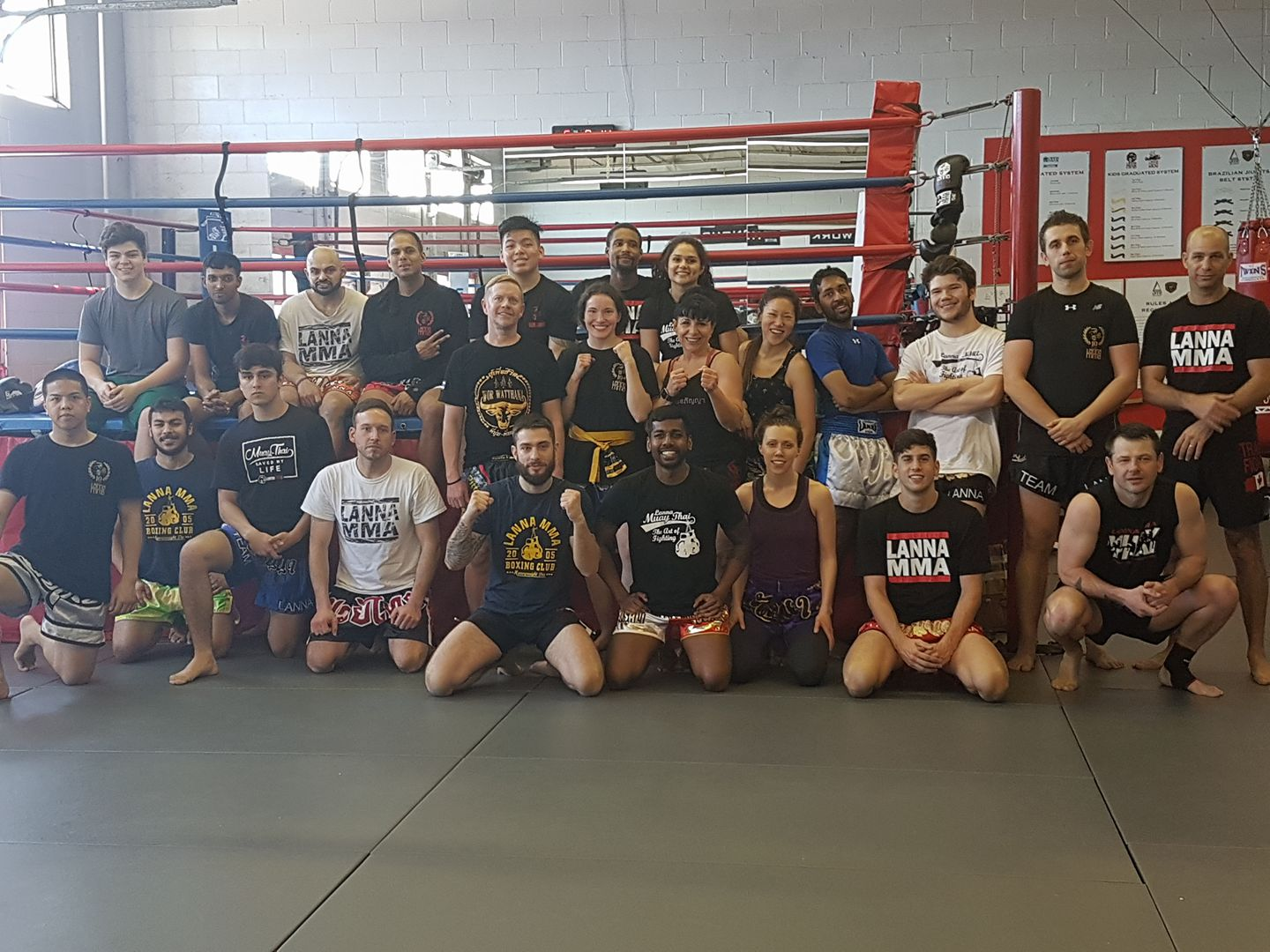 Awesome Muay Thai Clinch Seminar with Stephen Strotmeyer