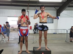 Kevon loses a close decision in his fight at the Muay Thai Ontario Provincial Tournament