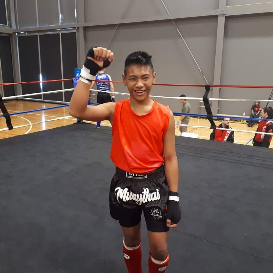 Khai wins gold at the Canadian Muaythai Championships