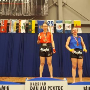 Victoria wins gold at the Canadian Muaythai Championships