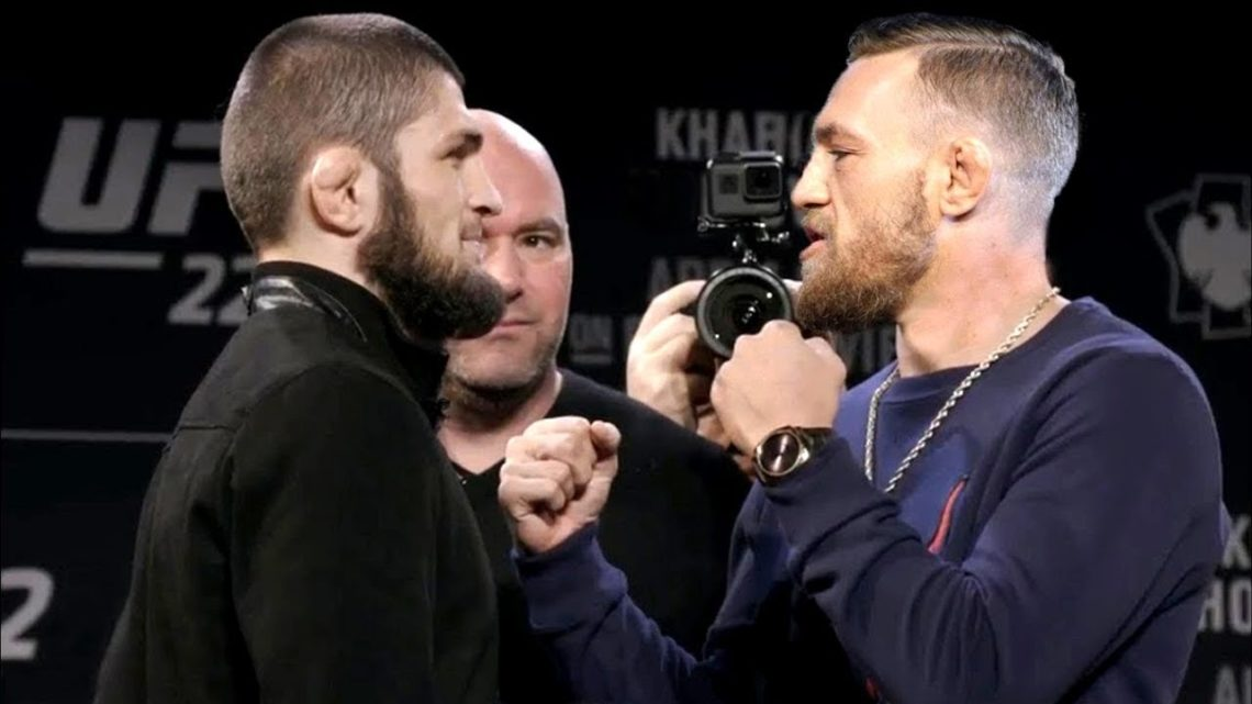 Conor McGregor and Khabib Nurmagomedov
