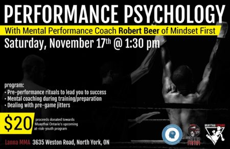 Sport Psychology Seminar at Lanna MMA